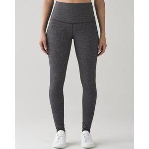 LULULEMON  Heathered Grey Cotton  Leggings